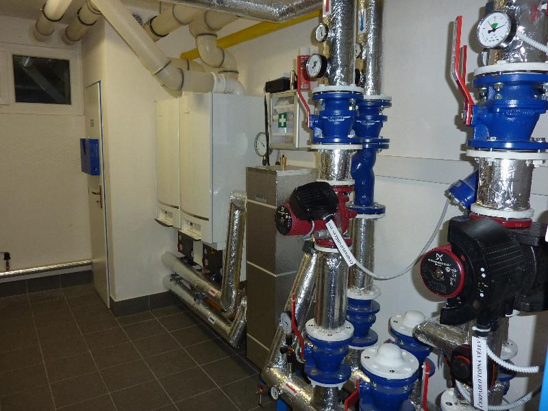 realizace plynových kotelen